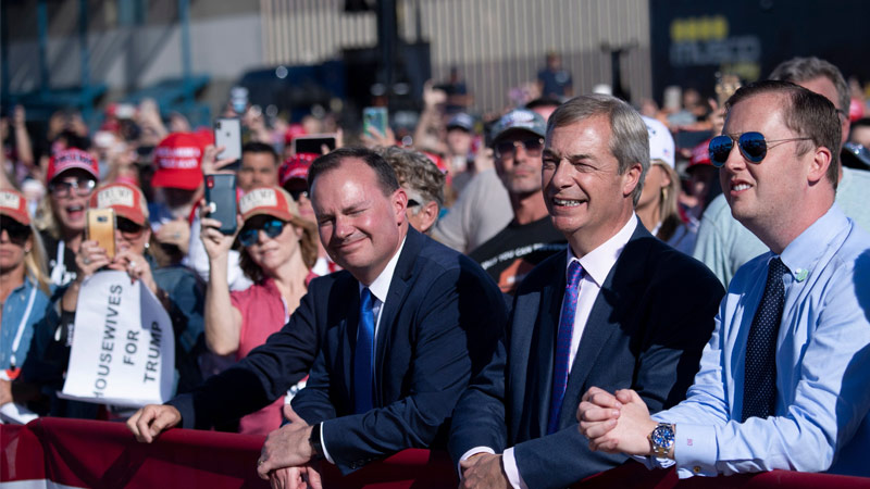 Farage: Media Pushing Polls to Kill Trump Voter Turnout
