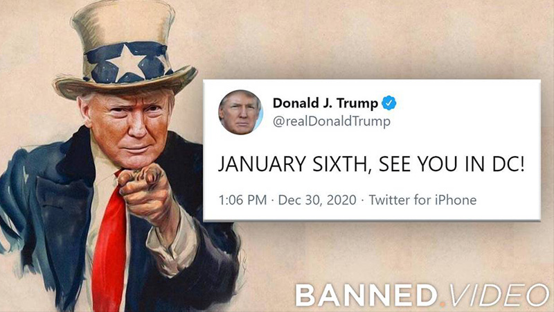 President Trump Will Officially Speak At DC MAGA March On January 6th