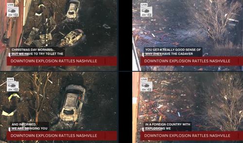 Nashville Police, FBI & ATF Respond To Christmas Morning Explosion