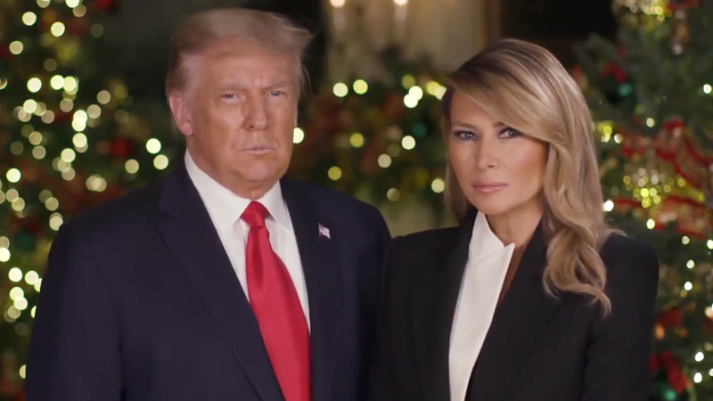 President Trump Tells Story of Jesus in 2020 White House Christmas Message