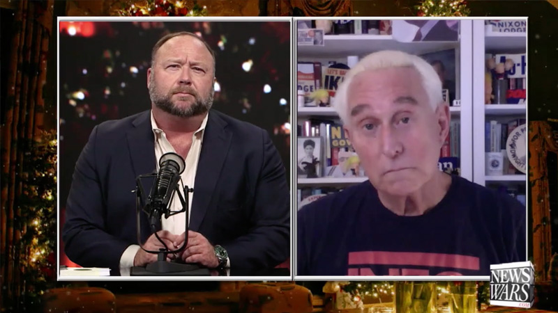 Roger Stone Reacts To Presidential Pardon, Martial Law, And More