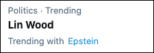 Attorney Lin Wood Claims Jeffrey Epstein Still Alive Wood-trending