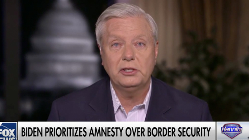 Graham: 'If We Can Get Behind President Trump and Follow His Lead, We Will Win in 2022'