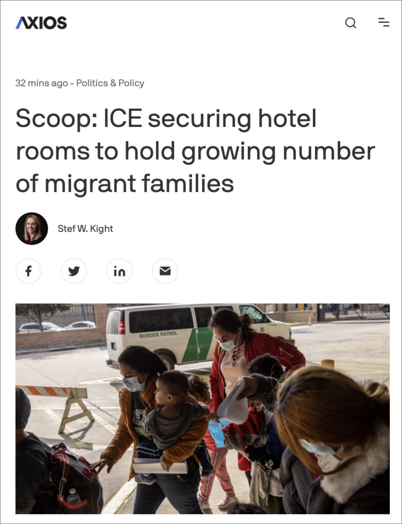 Biden Awards  MILLION Contract for Hotel Rooms to House 1,200 Illegal Migrants
