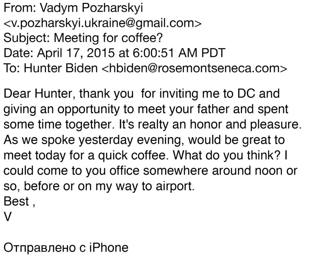 VP Joe Met With Hunter Biden's Shady Business Partners, Laptop Reveals