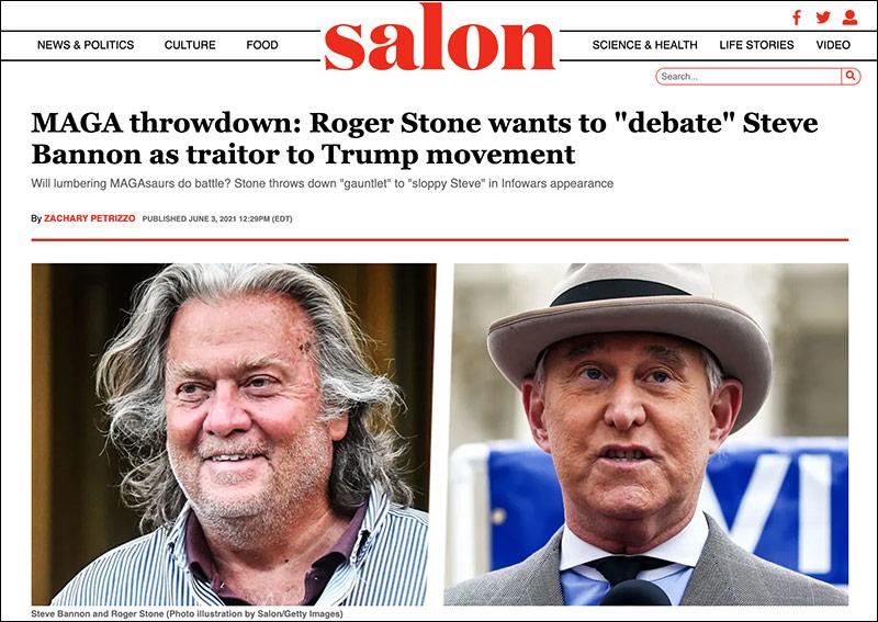 Wants Debate Against Former Trump Adviser Steve Bannon