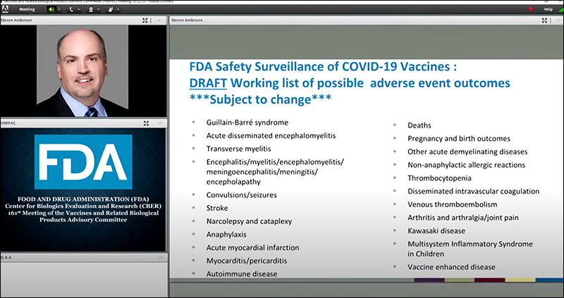 Oops! FDA Accidentally Reveals List of Covid Vaccine Side Effects Fda-2352