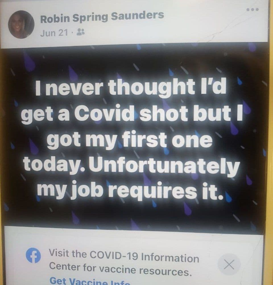 Mom, 45, Who Got Job at John Hopkins Hospital Dies After Reaction to Work-Mandated Covid Vaccine